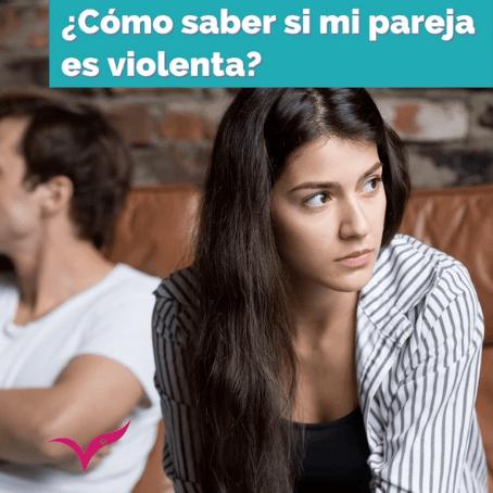 ¿Cómo identifico si mi pareja es violenta?